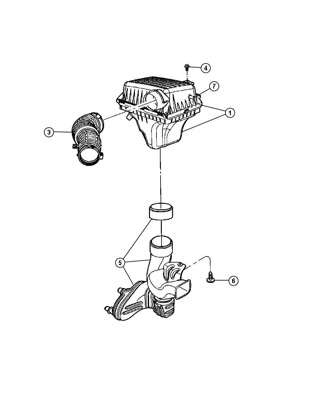 Dodge Ram Screw Hex Head Headlamp Module Headlamp
