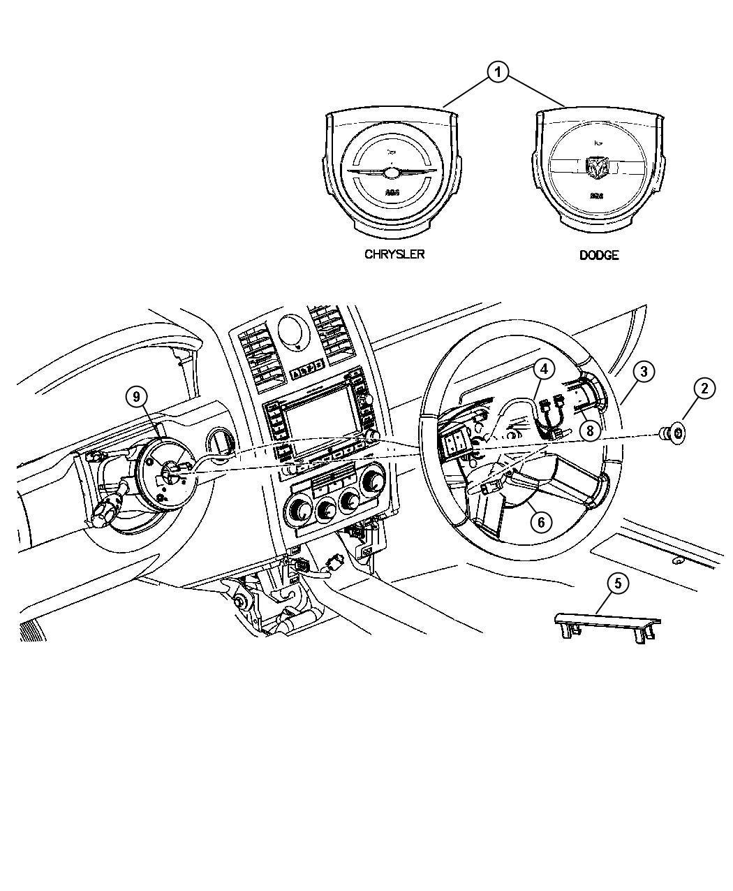 Dodge Magnum Switch Speed Control Speed Control Trim