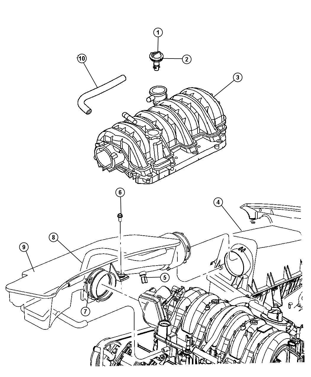 V8 Engine Head