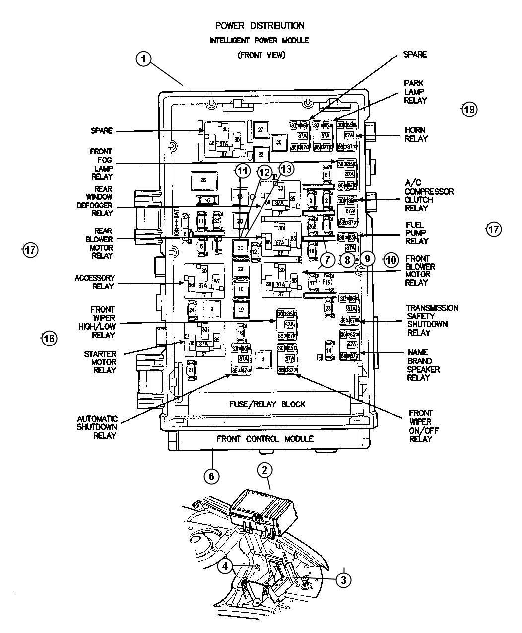 Chrysler Town Amp Country Ltd Platinum Module Front Control