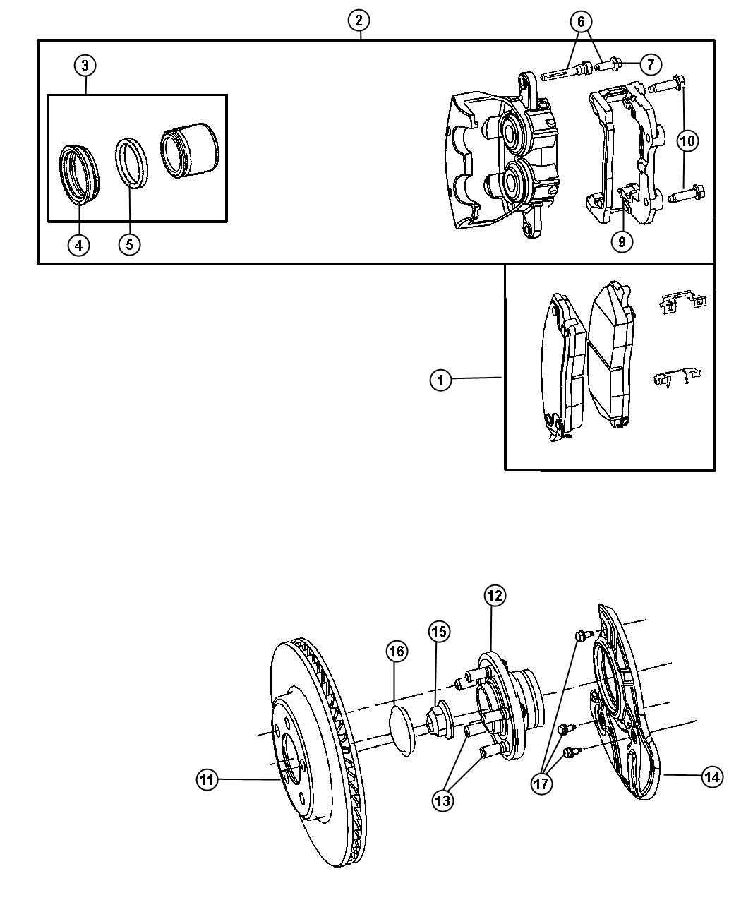 Chrysler Pt Cruiser Bolt Hex Flange Head M12x1 75x45 00