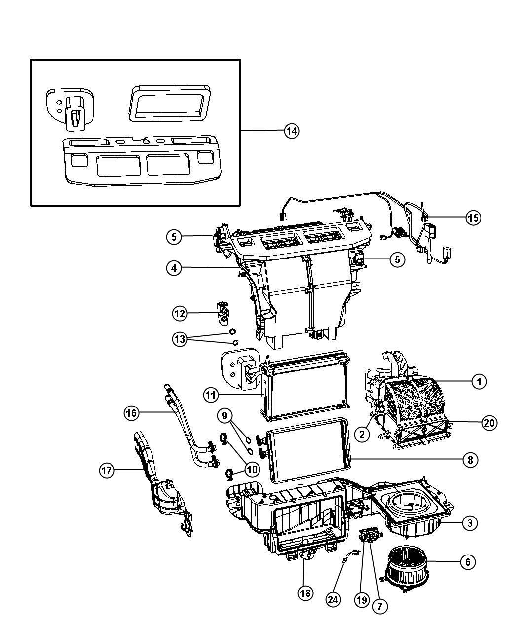 Ford Freestar Blower Diagram