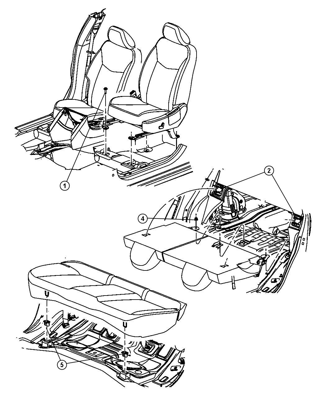 Dodge Caliber Nut Hex Flange M12 M12x1 5 Mounting