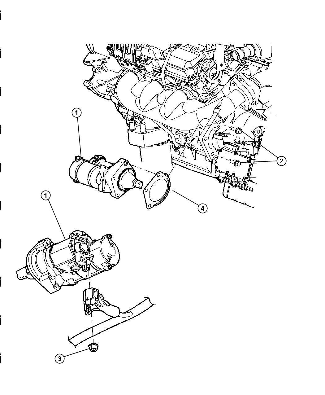 Chrysler Pacifica Starter Engine