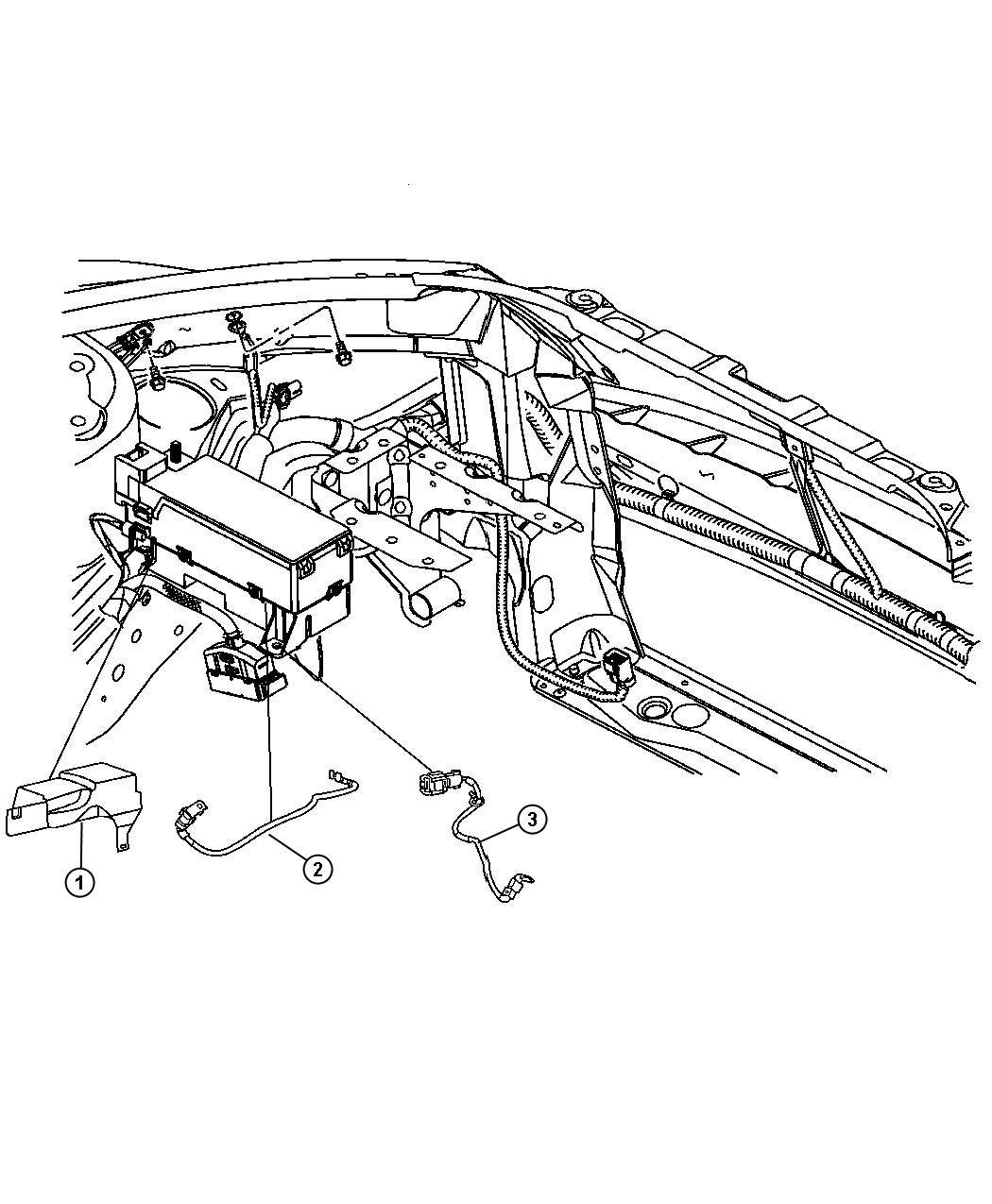 Chrysler Pt Cruiser Totally Integrated Power Module