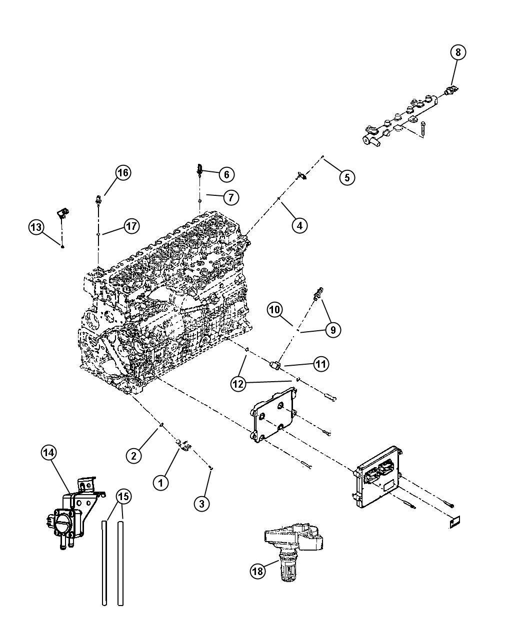 Dodge Ram Sensor Fuel Water