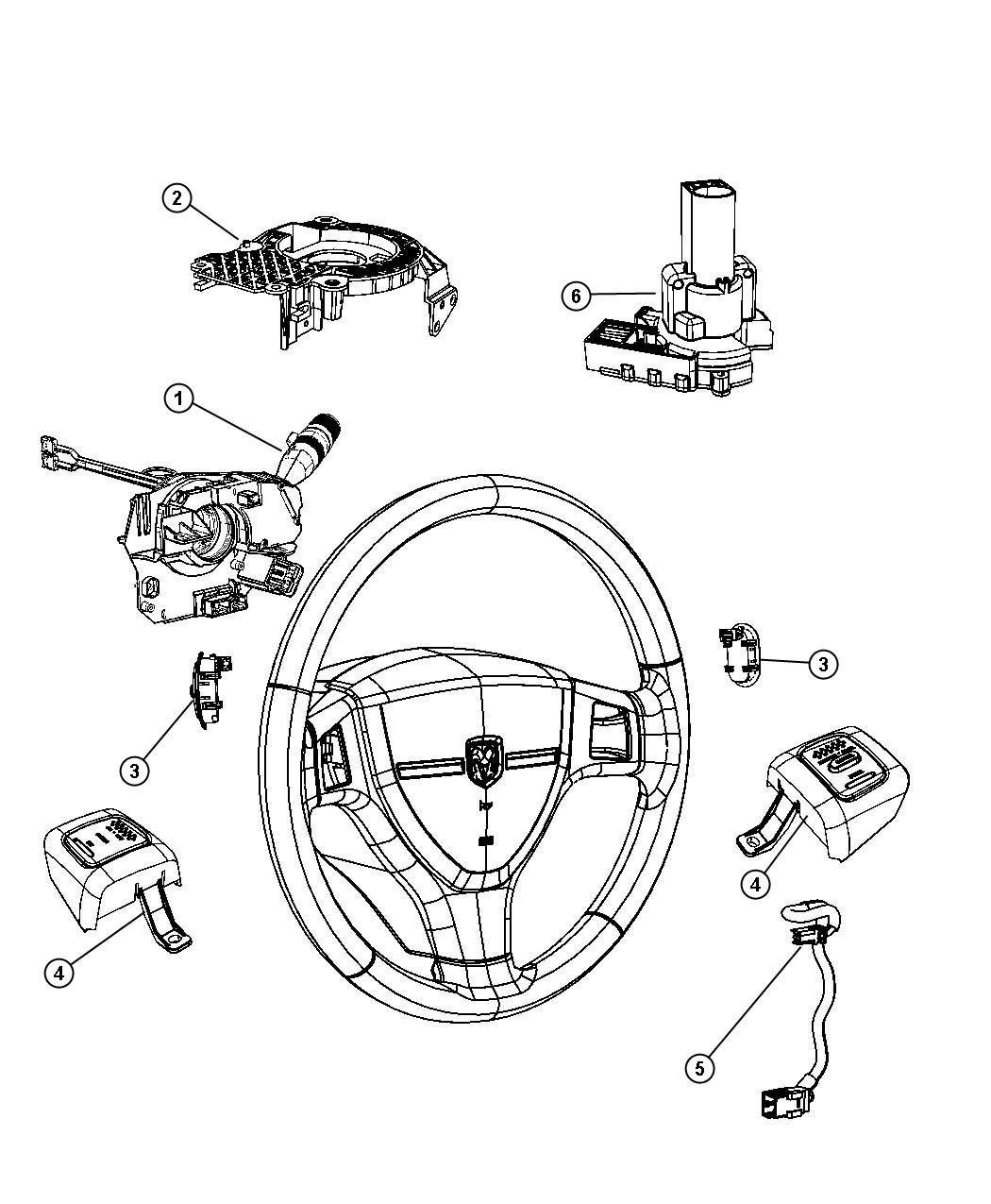 Dodge Ram Switch Ignition Columnhybrid