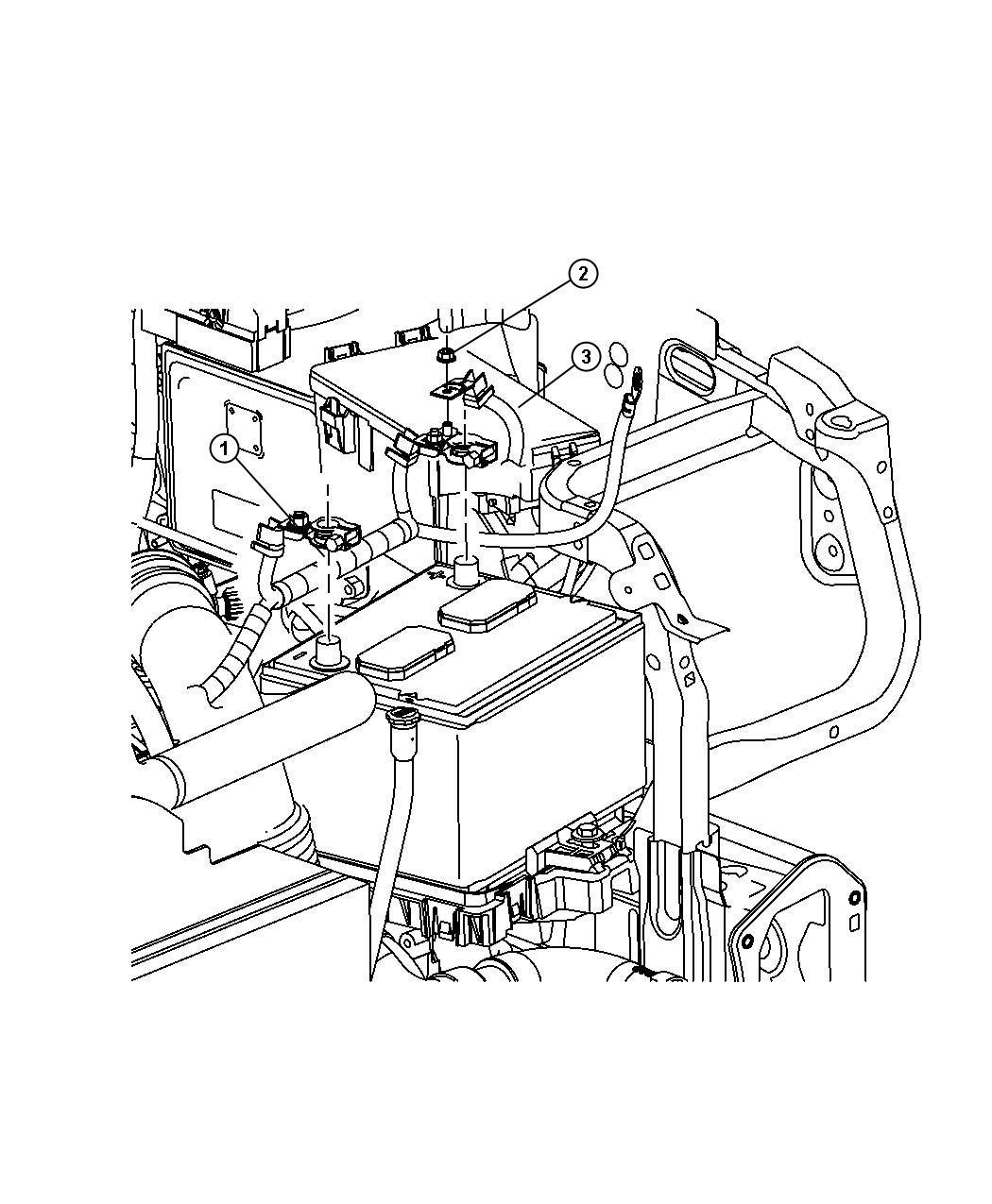 Dodge Caliber Battery Wiring