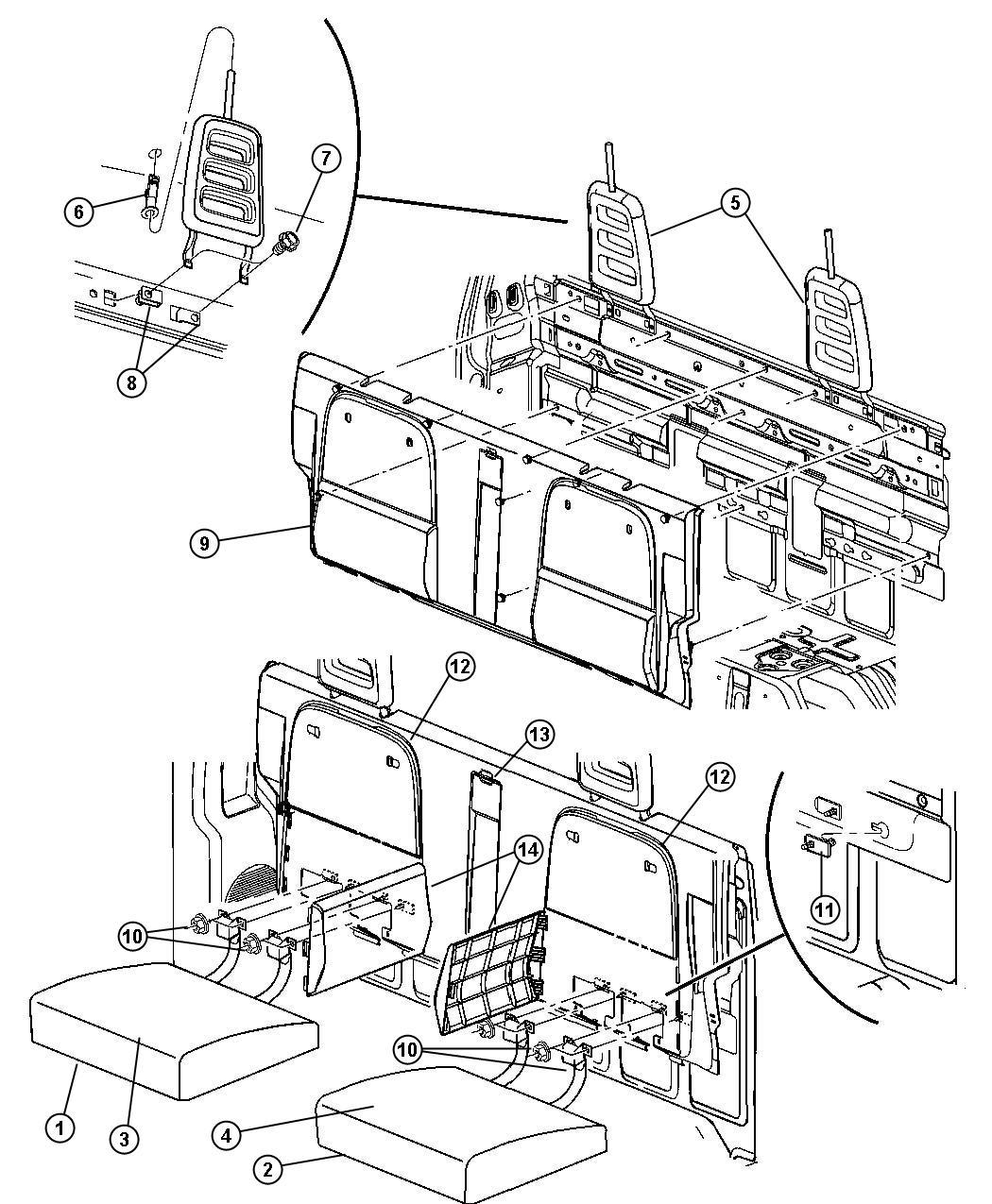 Dodge Dakota Base Load Floor Crate N Go Crate N