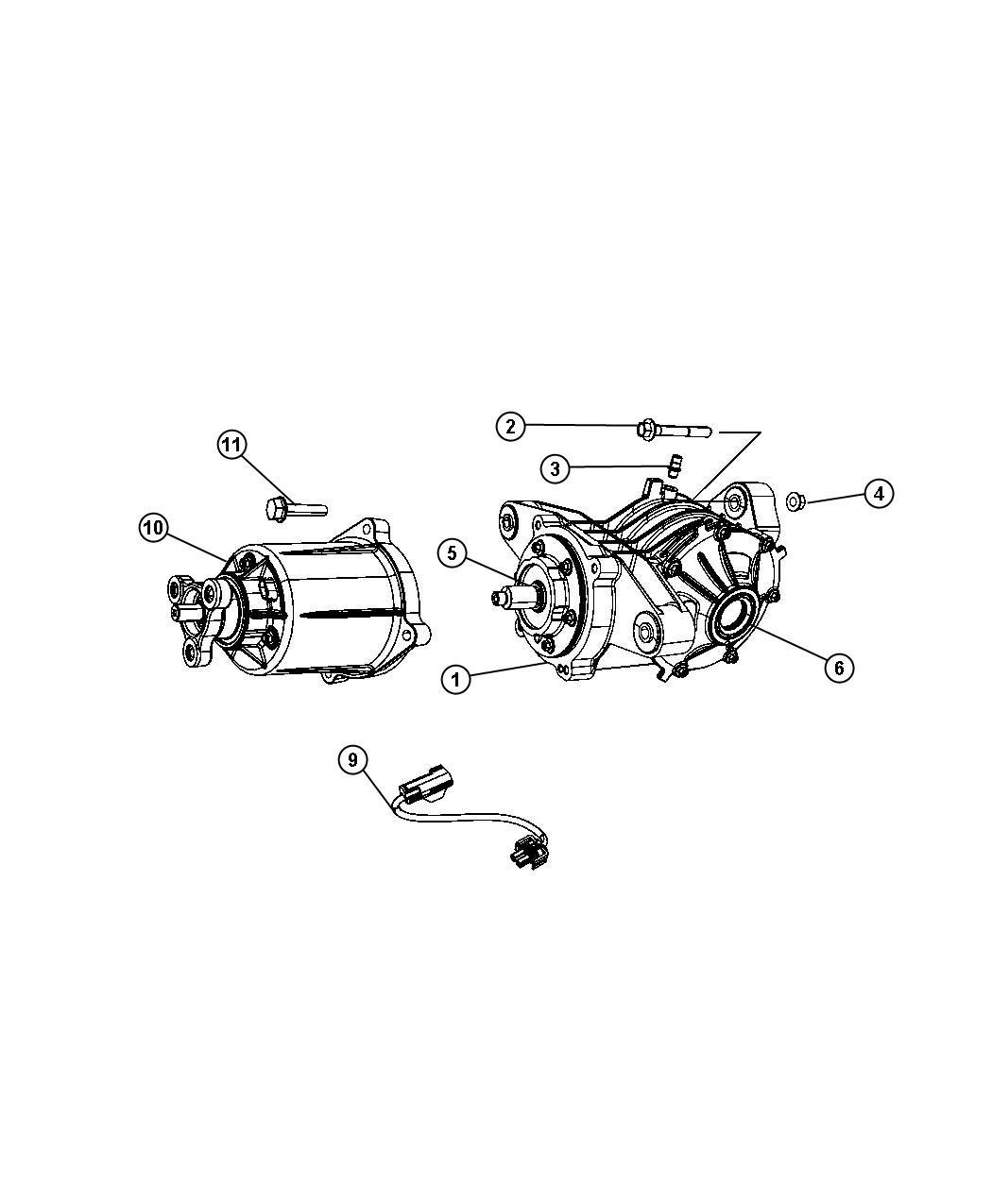 Chrysler Sebring Bdorc Viscous Unit Kit Rear Axle