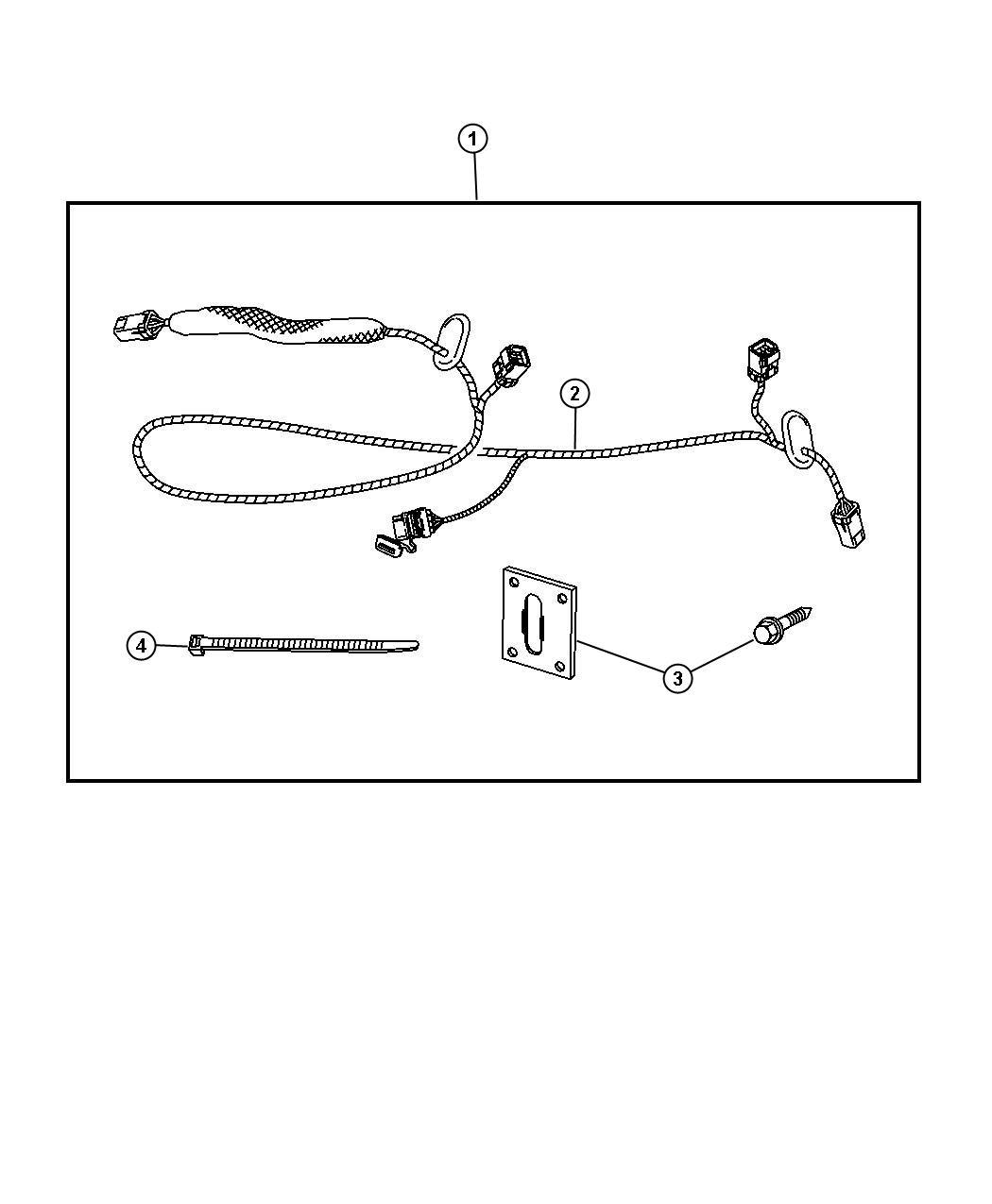 Dodge Durango Wiring Kit Trailer Tow