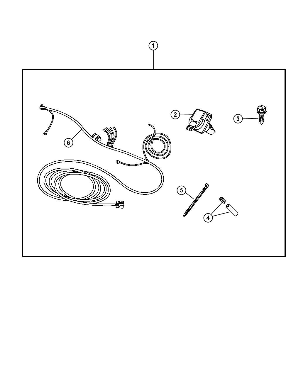 Dodge Ram Trailer Tow Wiring Harness Wiring Kit