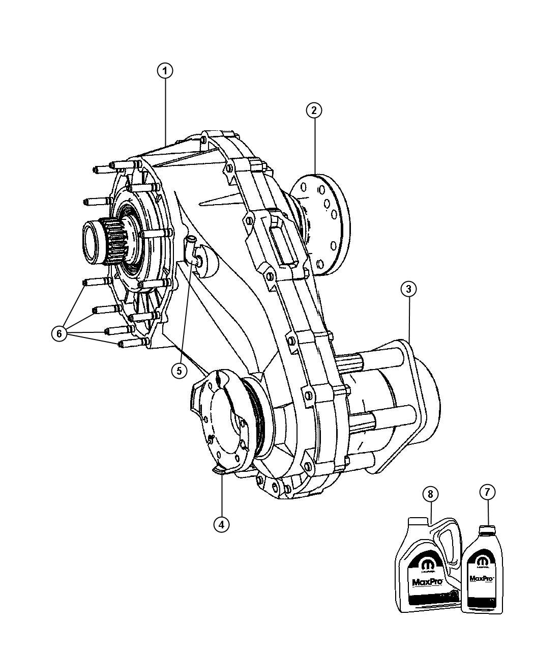Jeep Grand Cherokee Transfer Case Nvg140