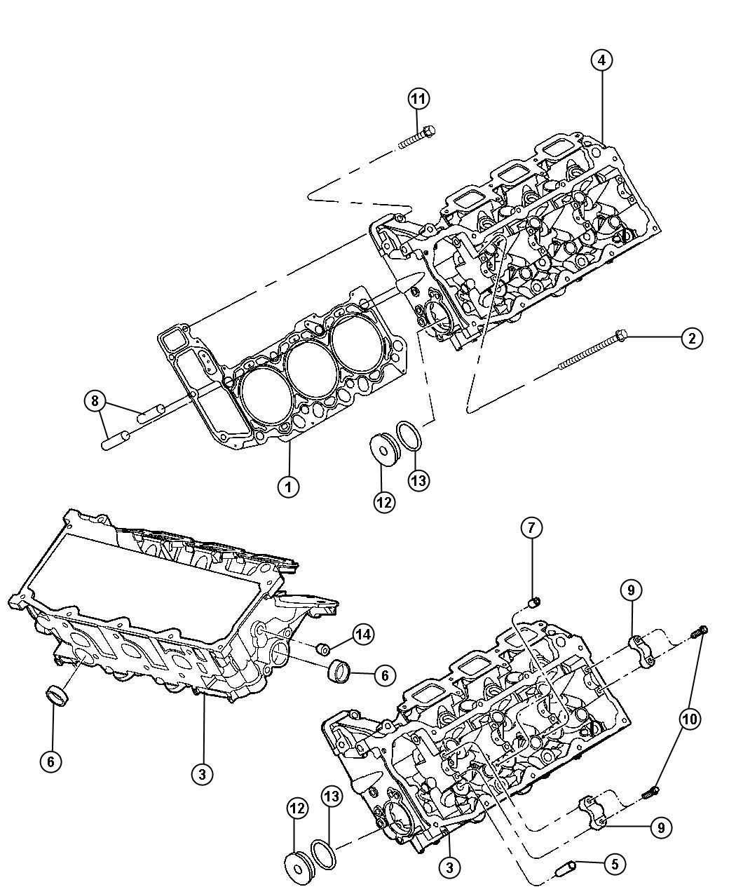 Dodge Ram Plug Access Hole Headincludes Accel