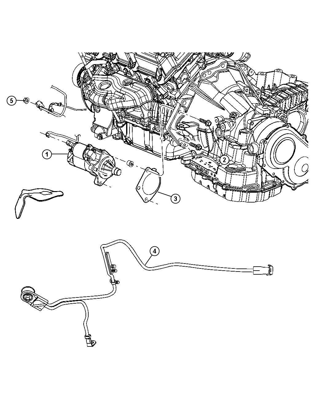 Chrysler Sebring Wiring Starter
