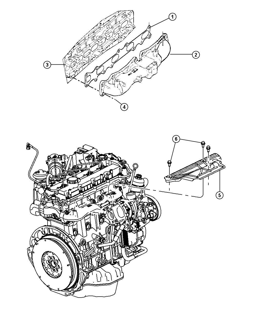 Jeep Grand Cherokee Nut Flange Mounting