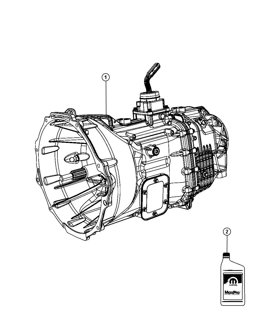 Ram Transmission 6 Speed