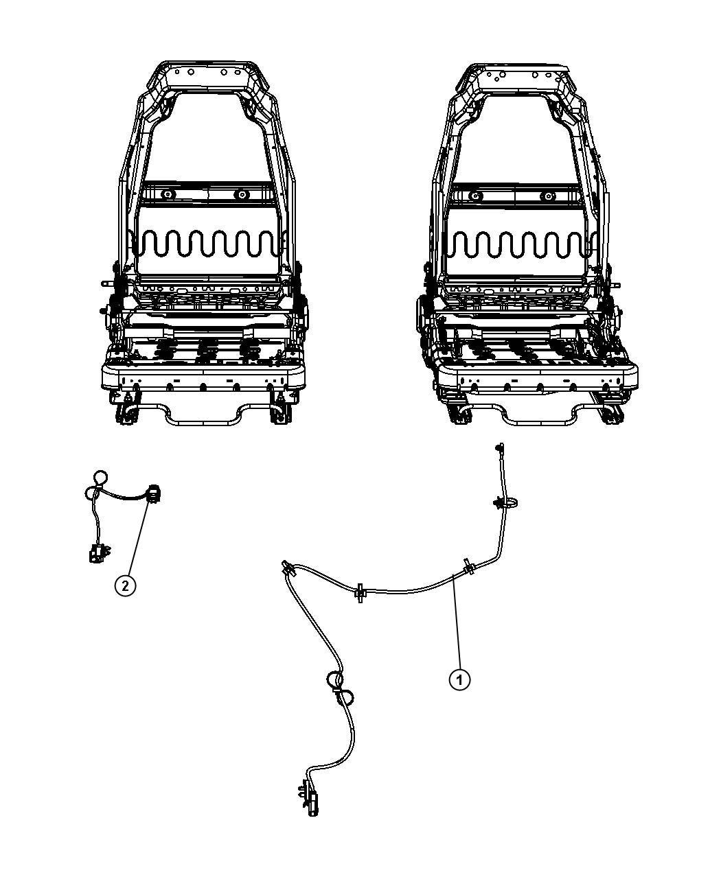 Jk Seat Upgrade Wiring Sensors Etc