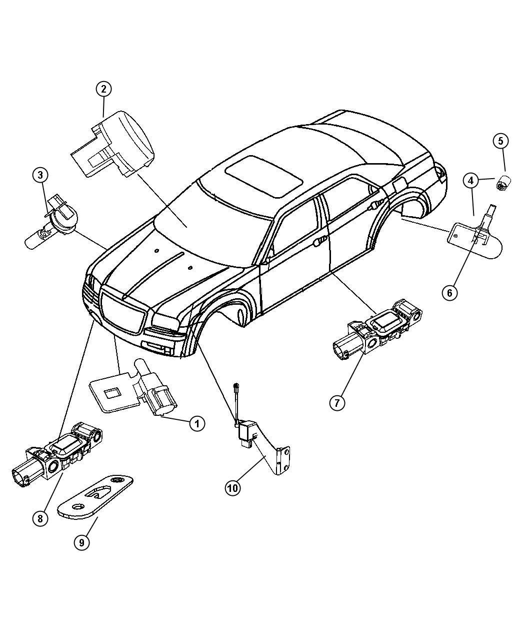 Chrysler Sensor Tire Pressure Wpj Restricted