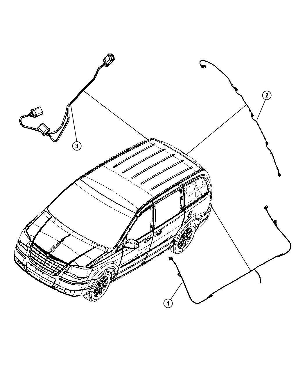 Dodge Grand Caravan Wiring Trailer Tow Package