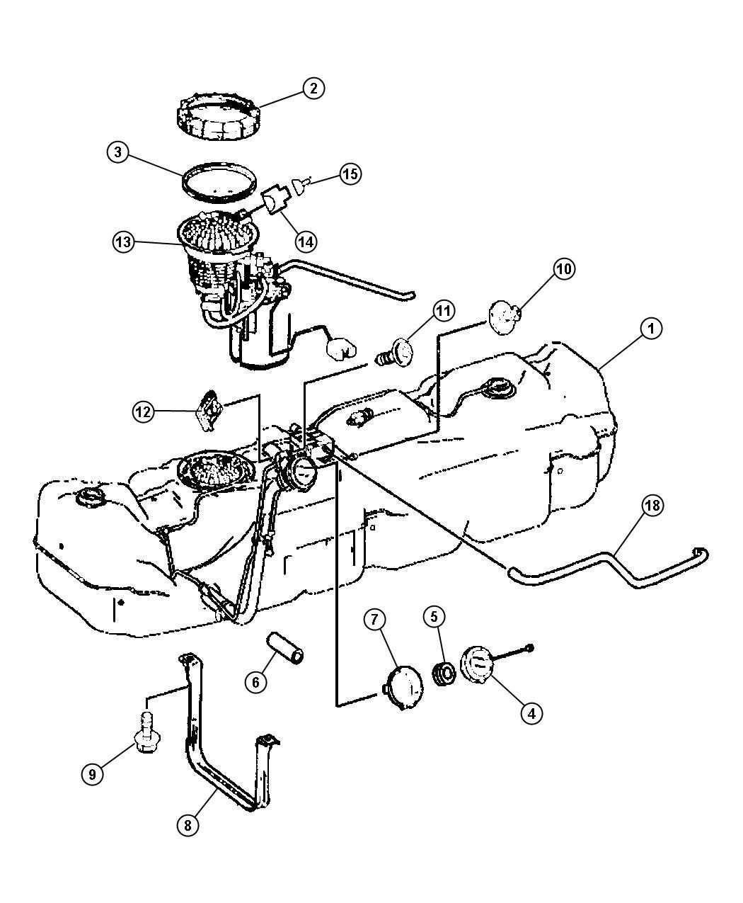 Dodge Sprinter Tank Fuel See Note