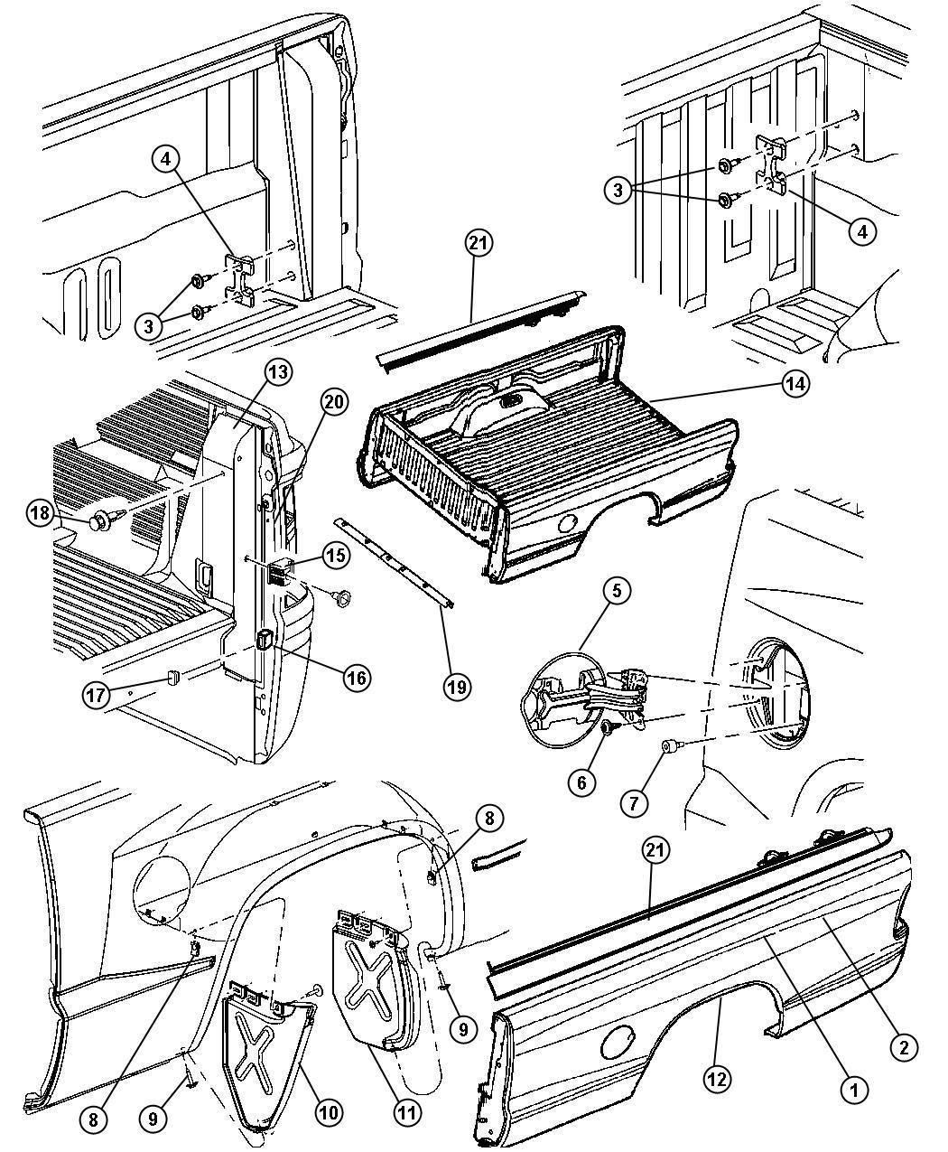 Dodge Caliber Box Pickup