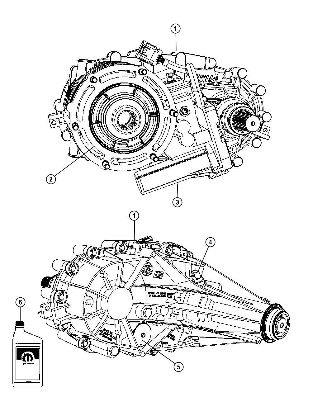 Dodge Ram Transfer Case Nvg246 Relabel