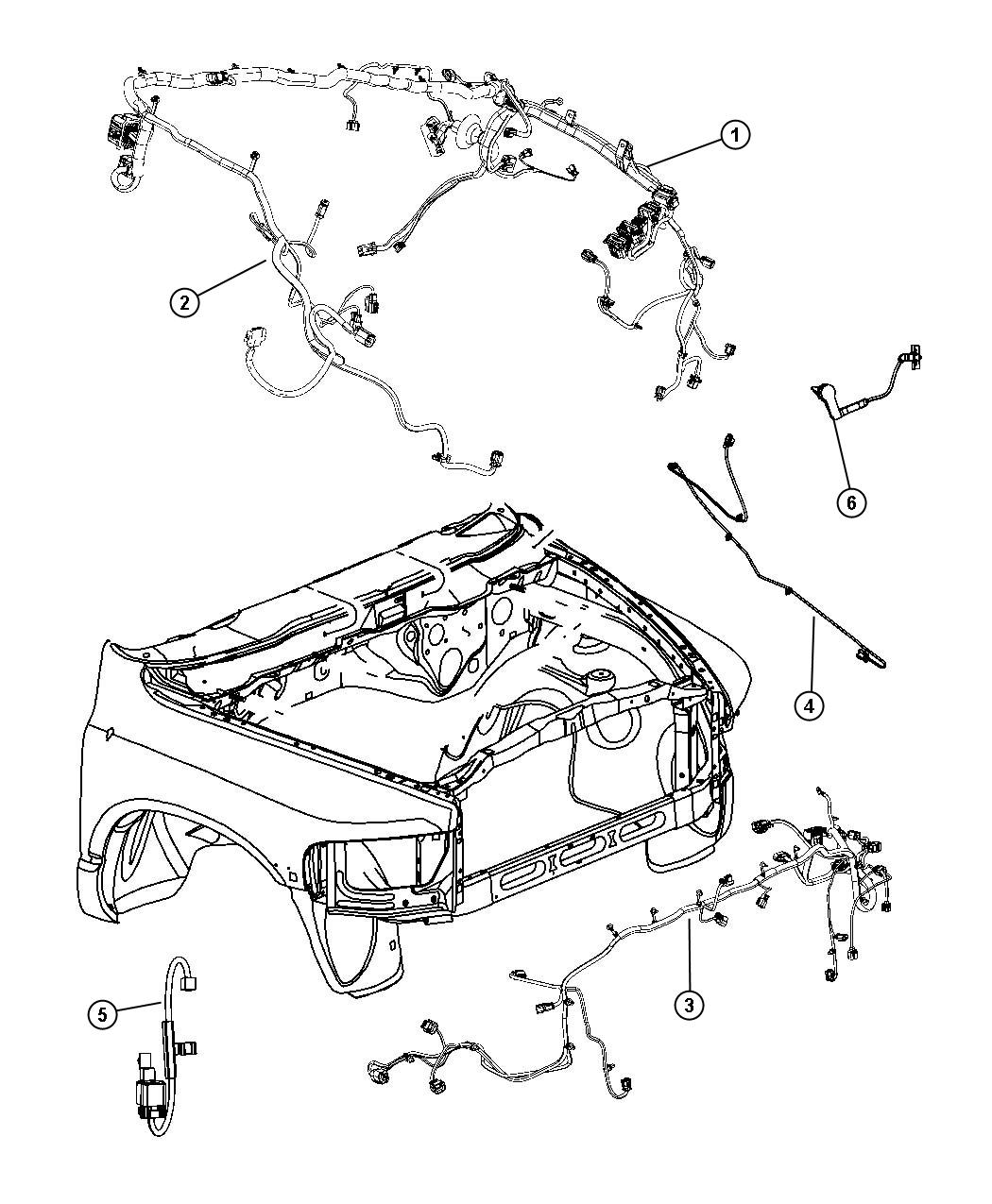 Dodge Ram Wiring Dash Caseunderhood