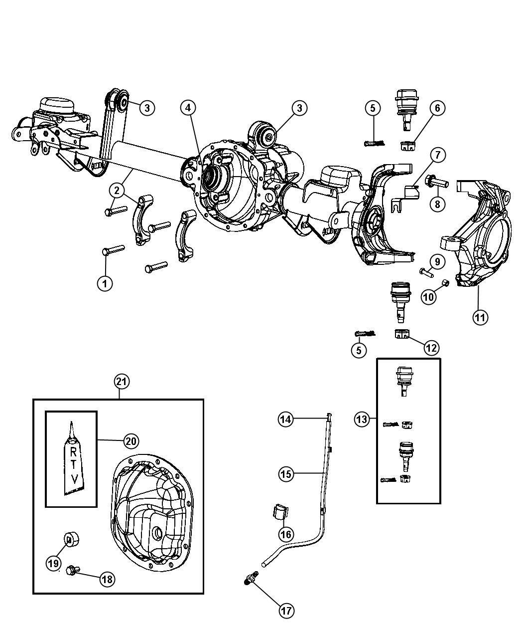 Jeep Wrangler Unlimited X 3 8l V6 A T 4x4 Bushing