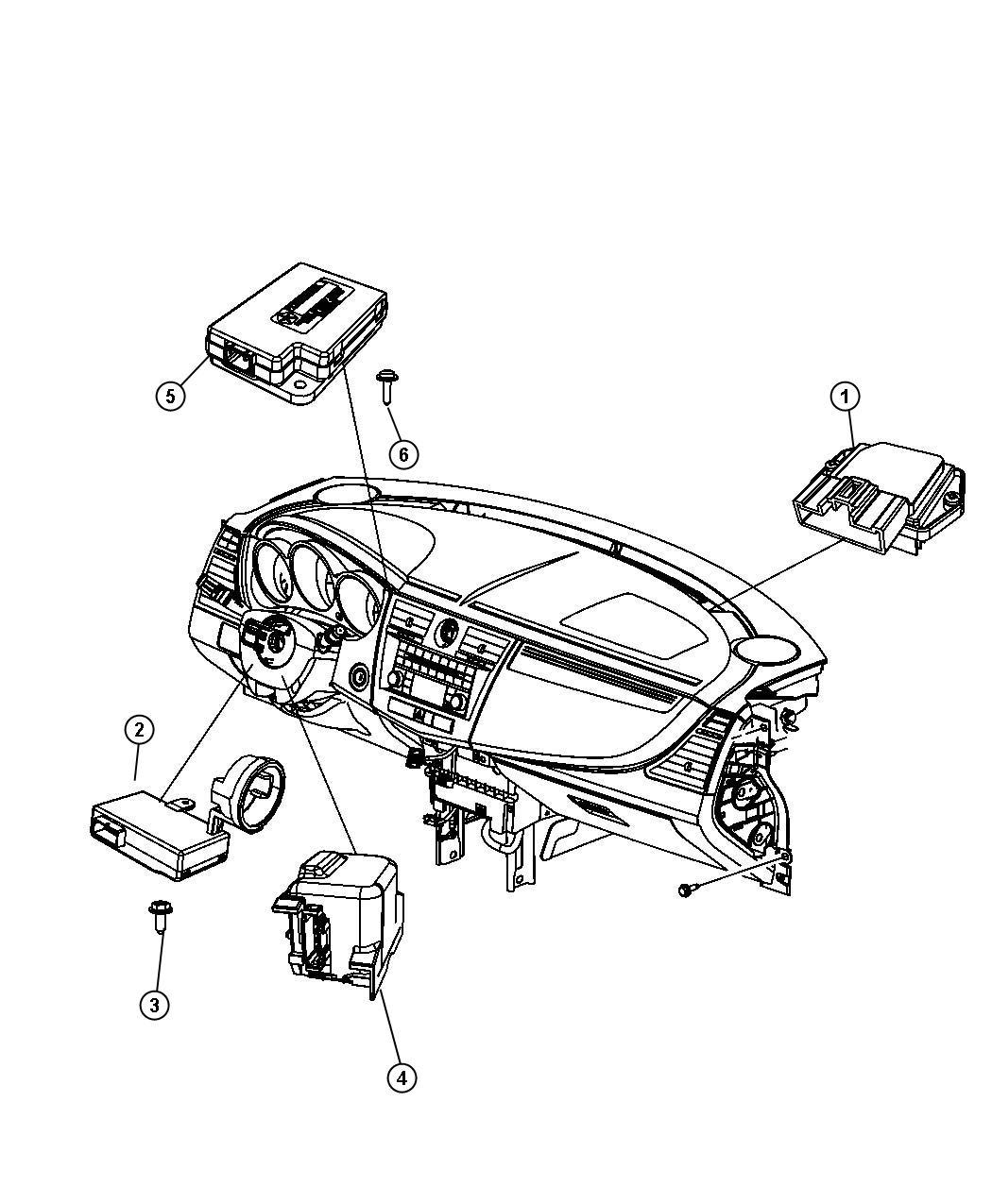 Chrysler 200 Receiver Keyless Entry Lpkeyless