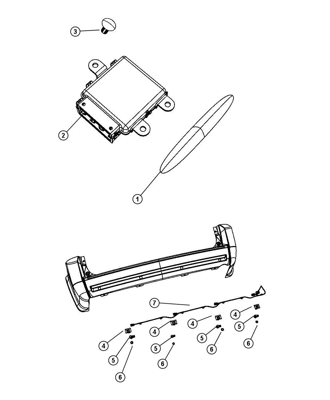 Ram Base Fastener Pin Push Pin M8 6x21 20 Used For