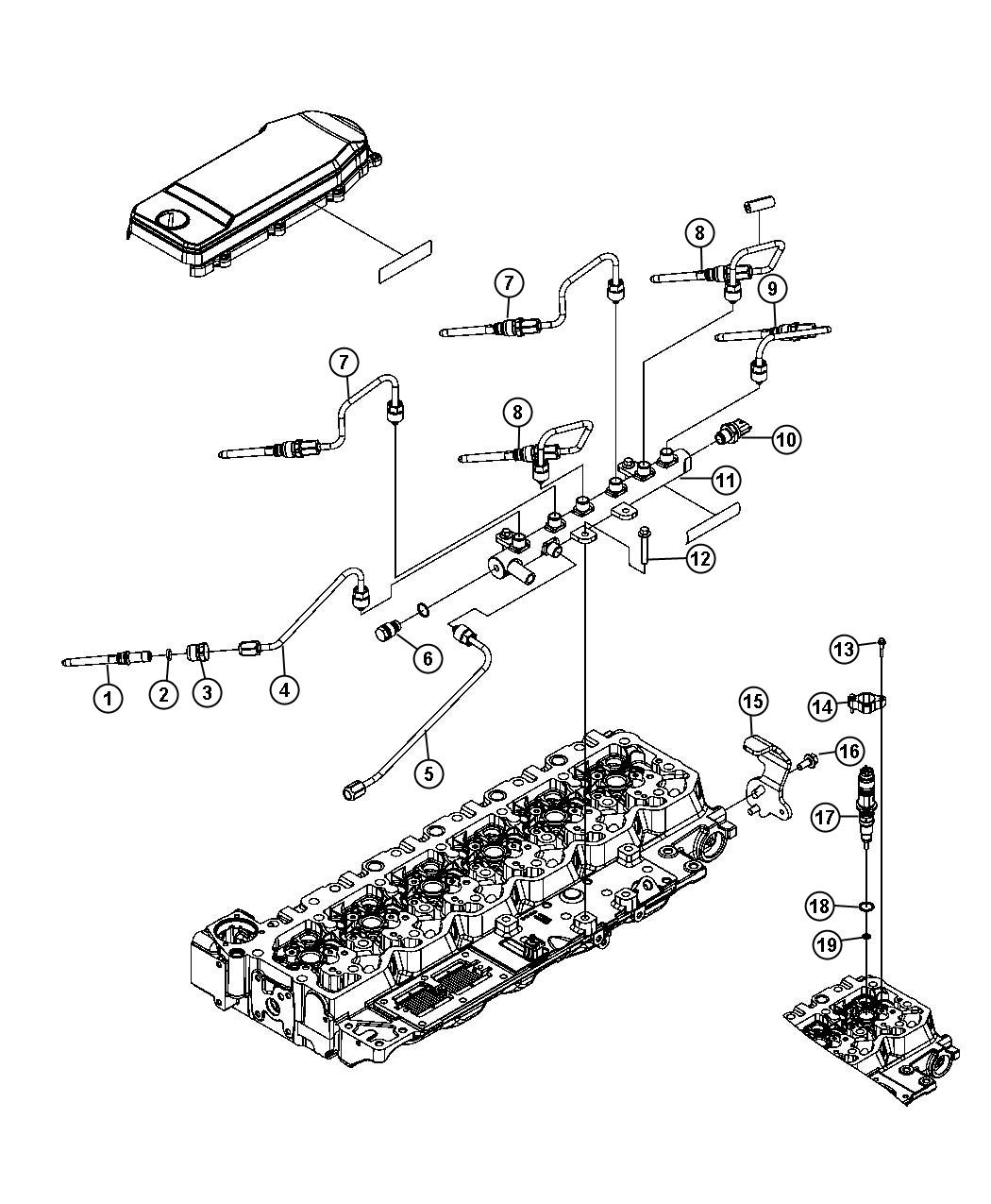 Dodge Ram Sensor Fuel Pressure Coolerblackruby