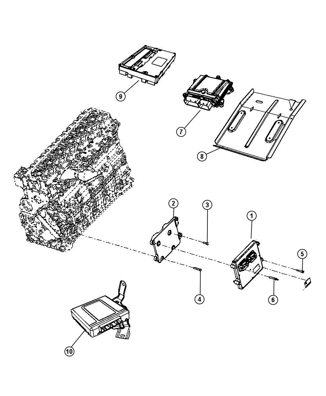 Dodge Ram Module Transmission Control