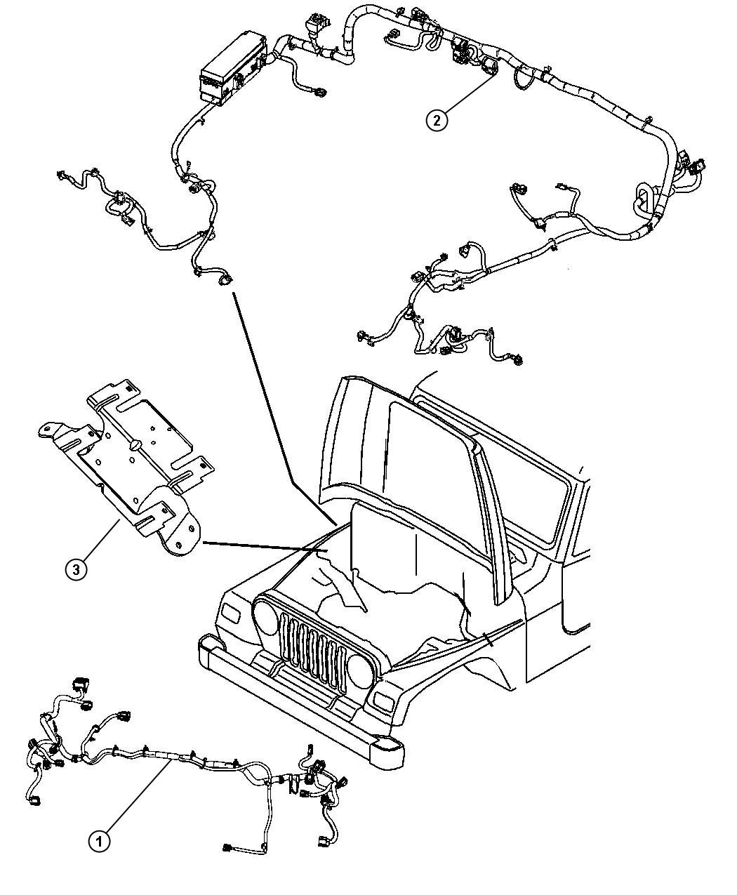 Jeep Wrangler Wiring Dash Automatic Transmission