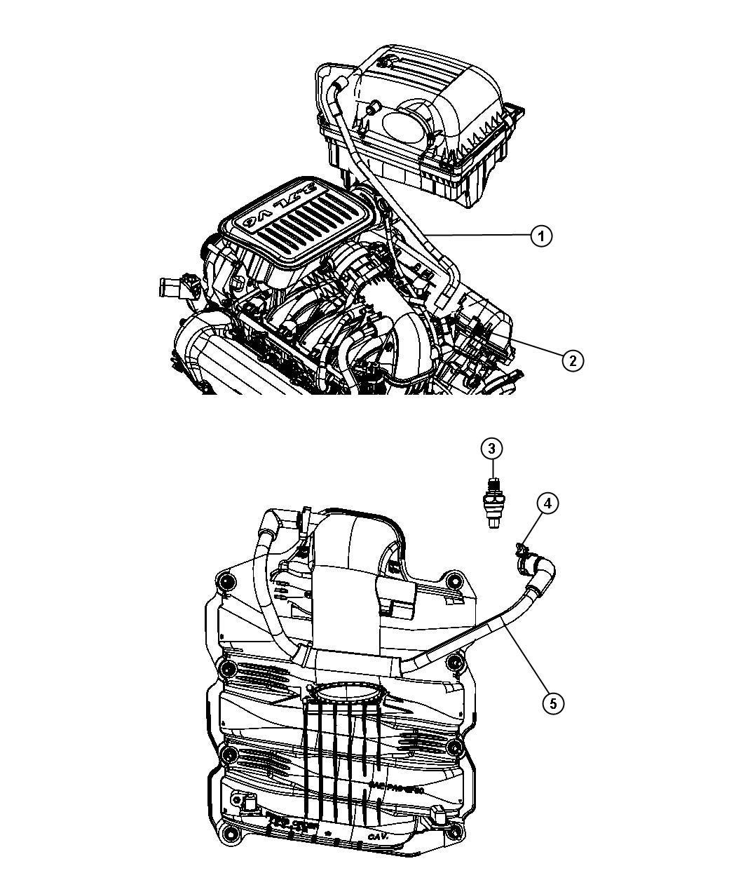 Dodge Nitro Crankcase Ventilation 3 7l 3 7l V6 Engine