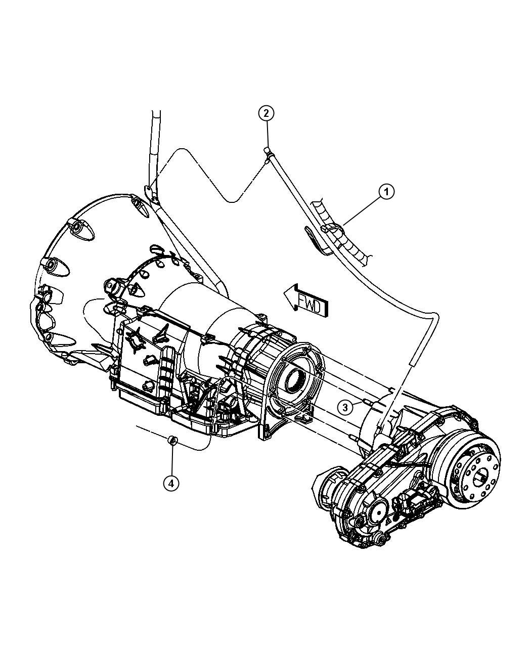 Jeep Liberty Transfer Case Mounting And Venting Mp
