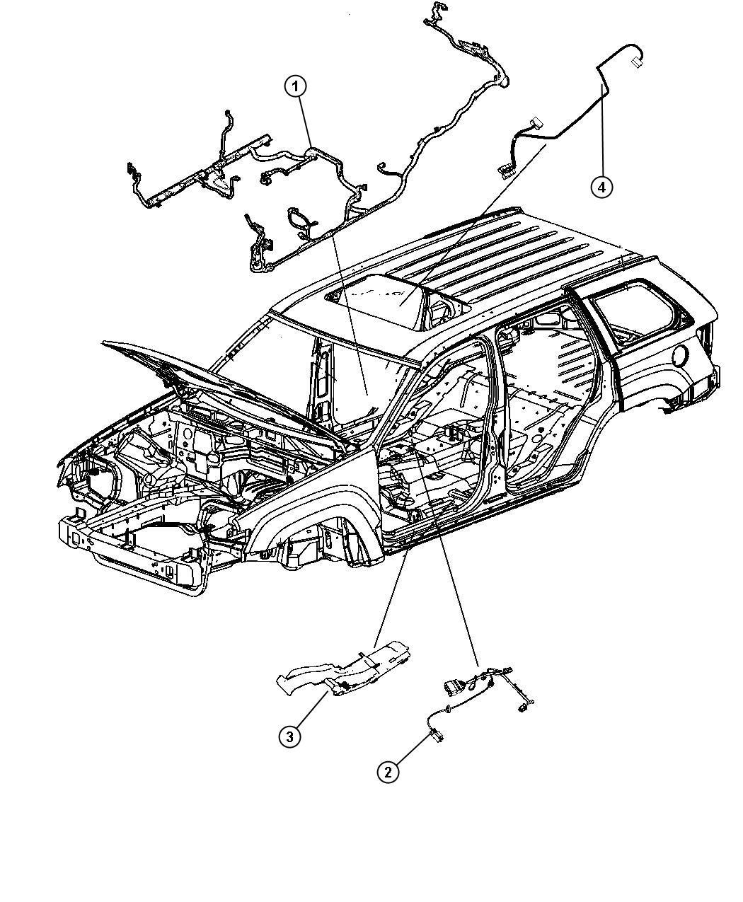 Dodge Durango Wiring Body