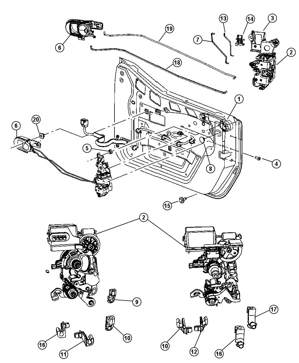 Jeep Wrangler Unlimited Sport 3 6l V6 A T 4x4 Handle