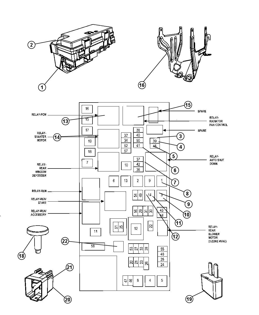 Chrysler Town Amp Country Module Totally Integrated Power