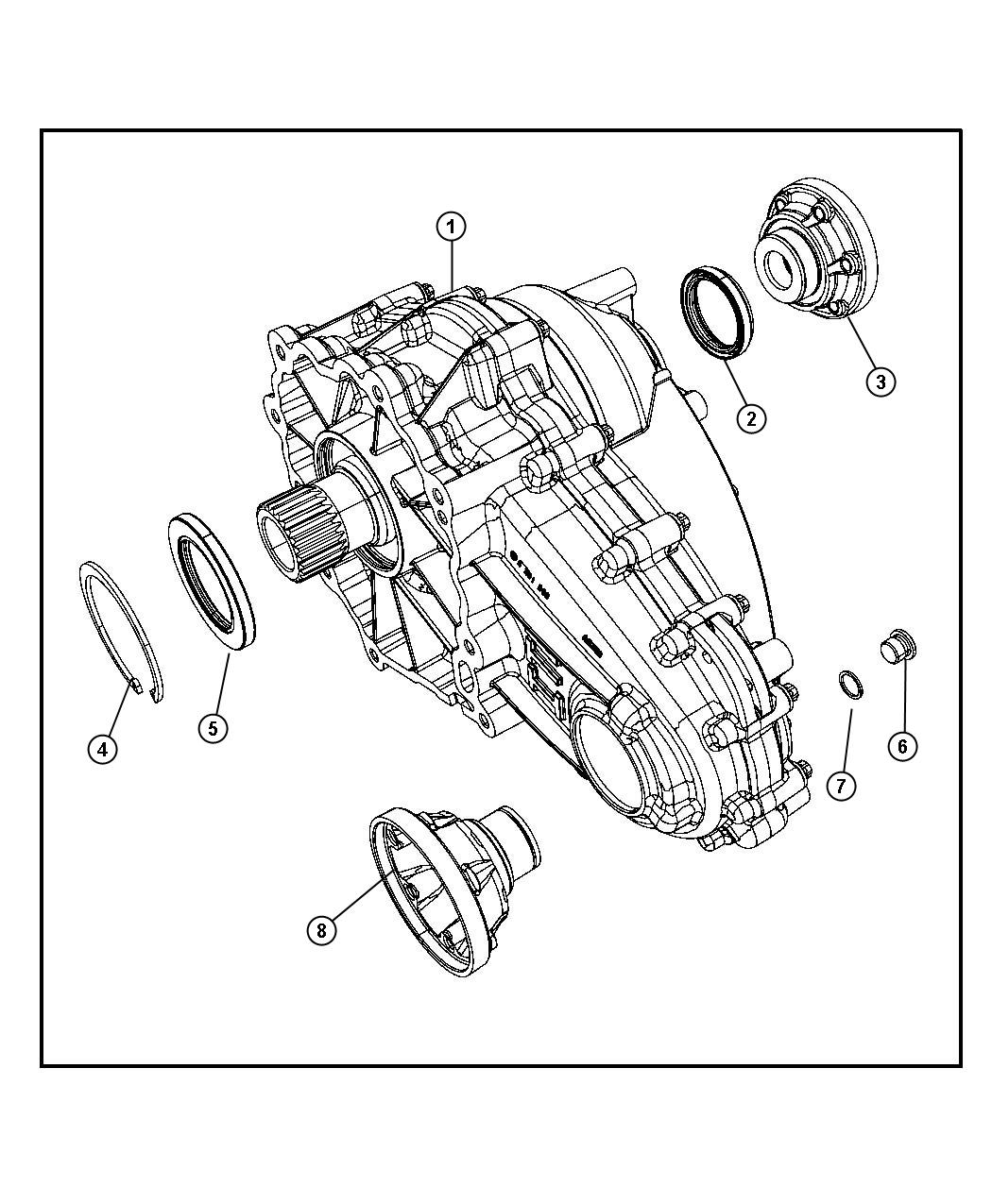 Jeep Grand Cherokee Transfer Case Itc