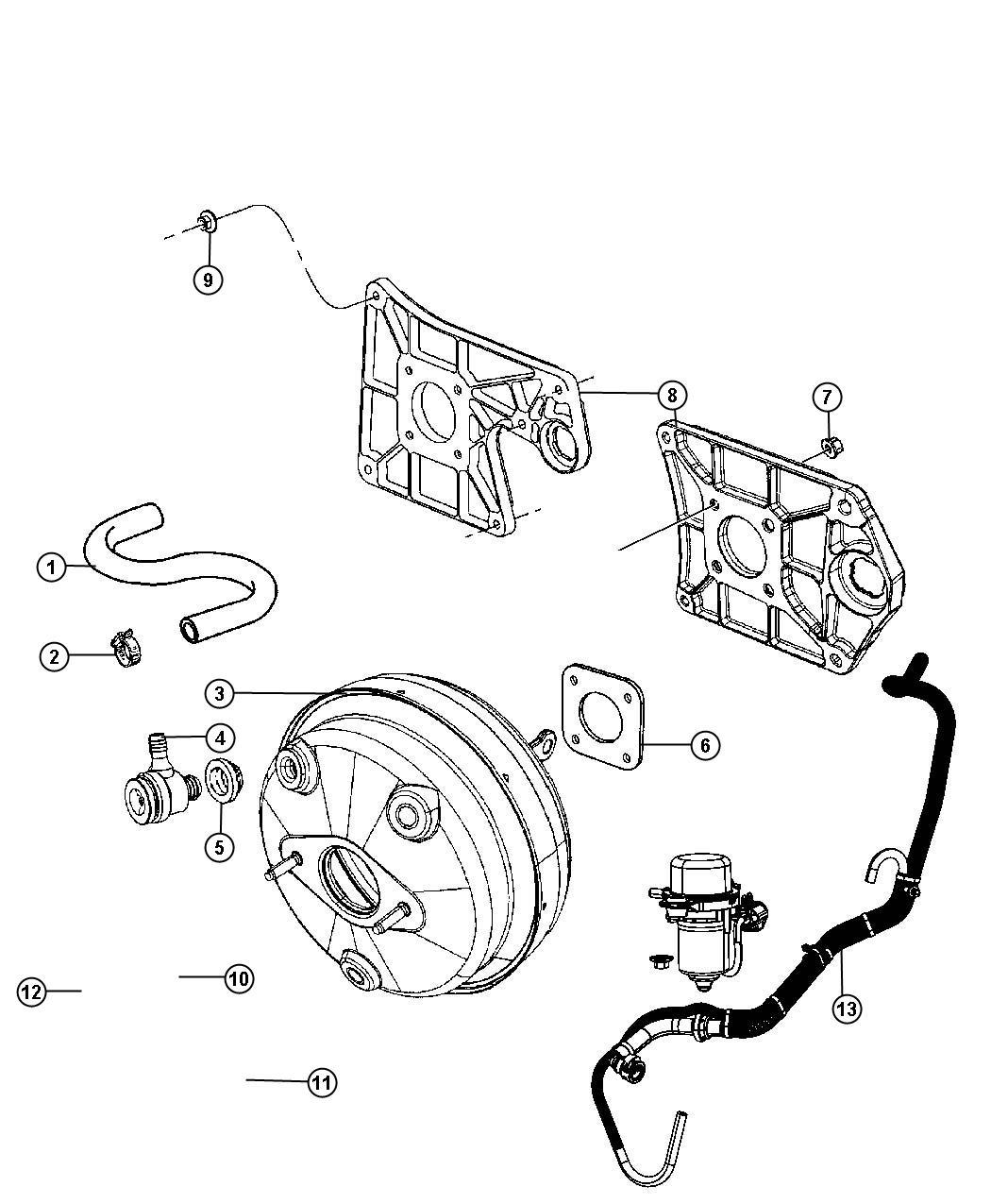 Jeep Wrangler Pump Air 3 6l V6 24v Vvt Engine