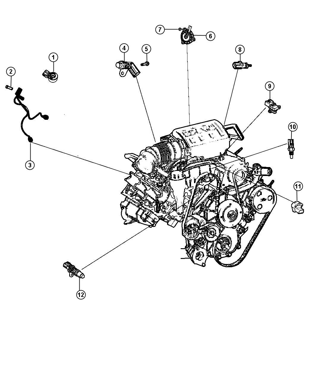 Crankshaft Sensor Location