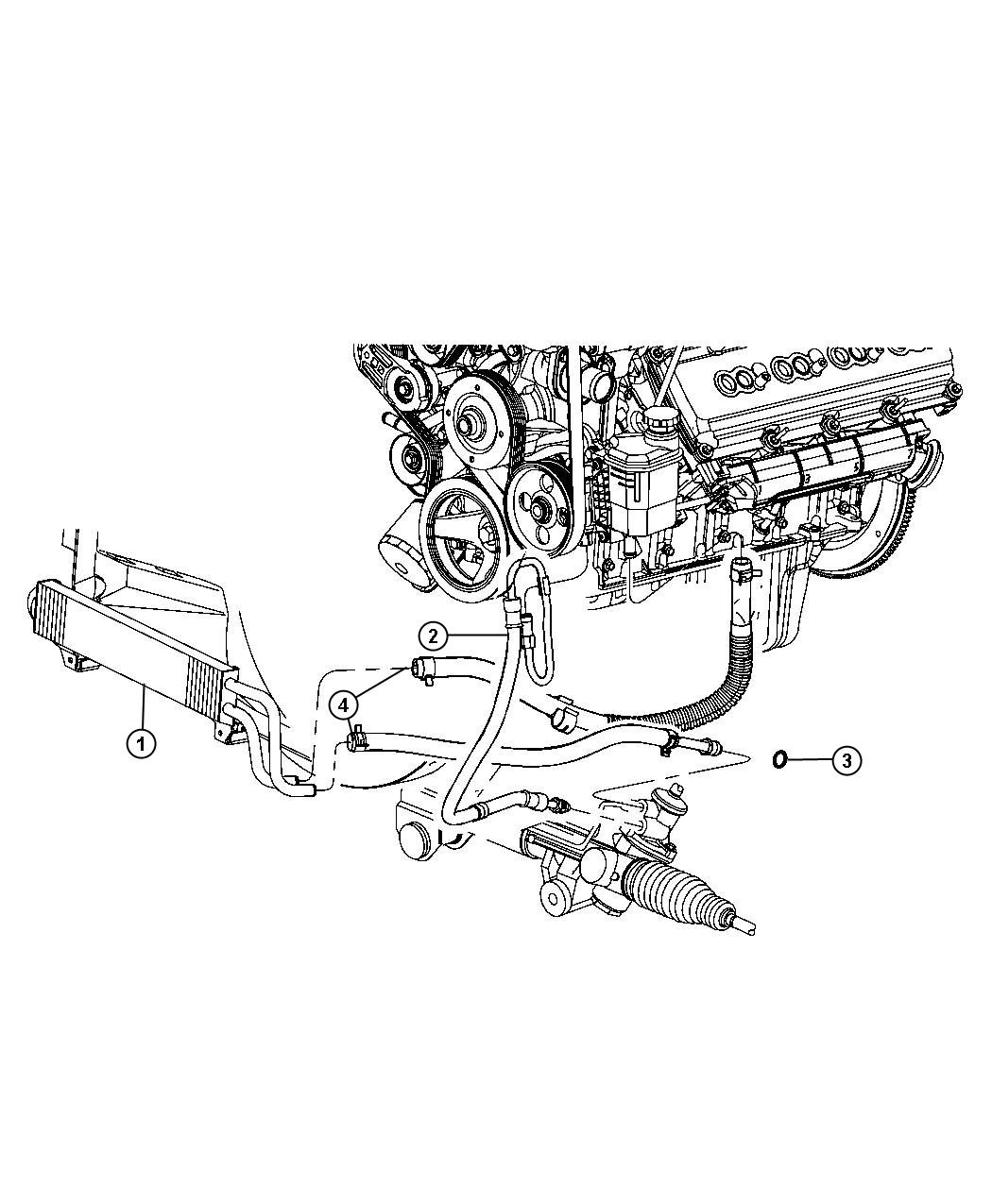 Dodge Ram Hose Power Steering