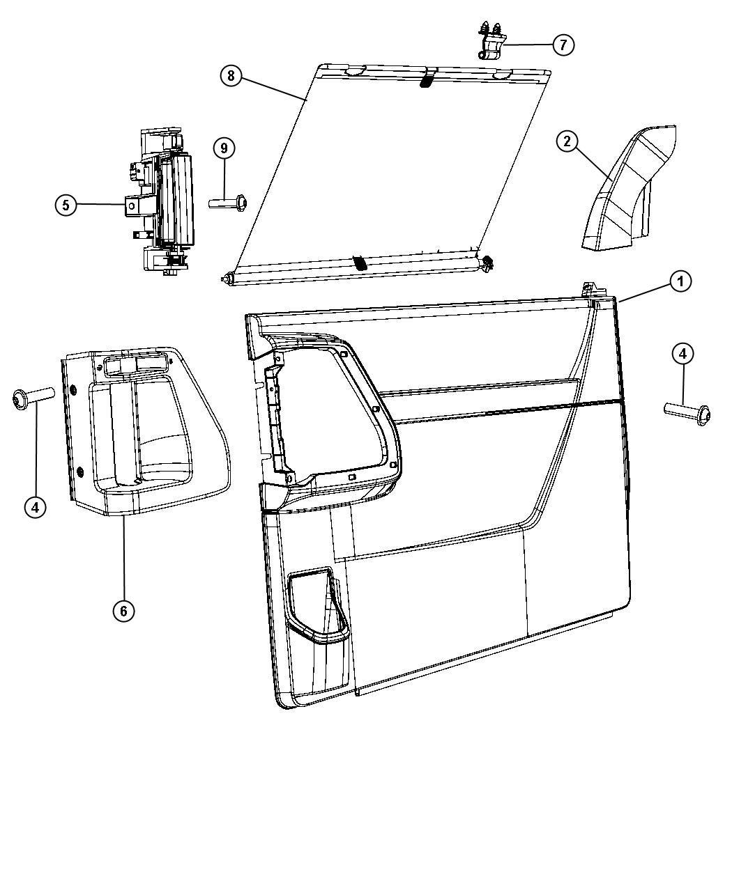 Dodge Caravan Sliding Door Lock Diagram