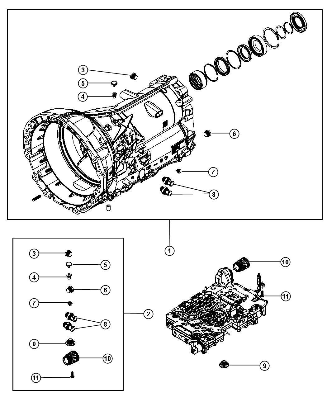Dodge Charger Case Transmission