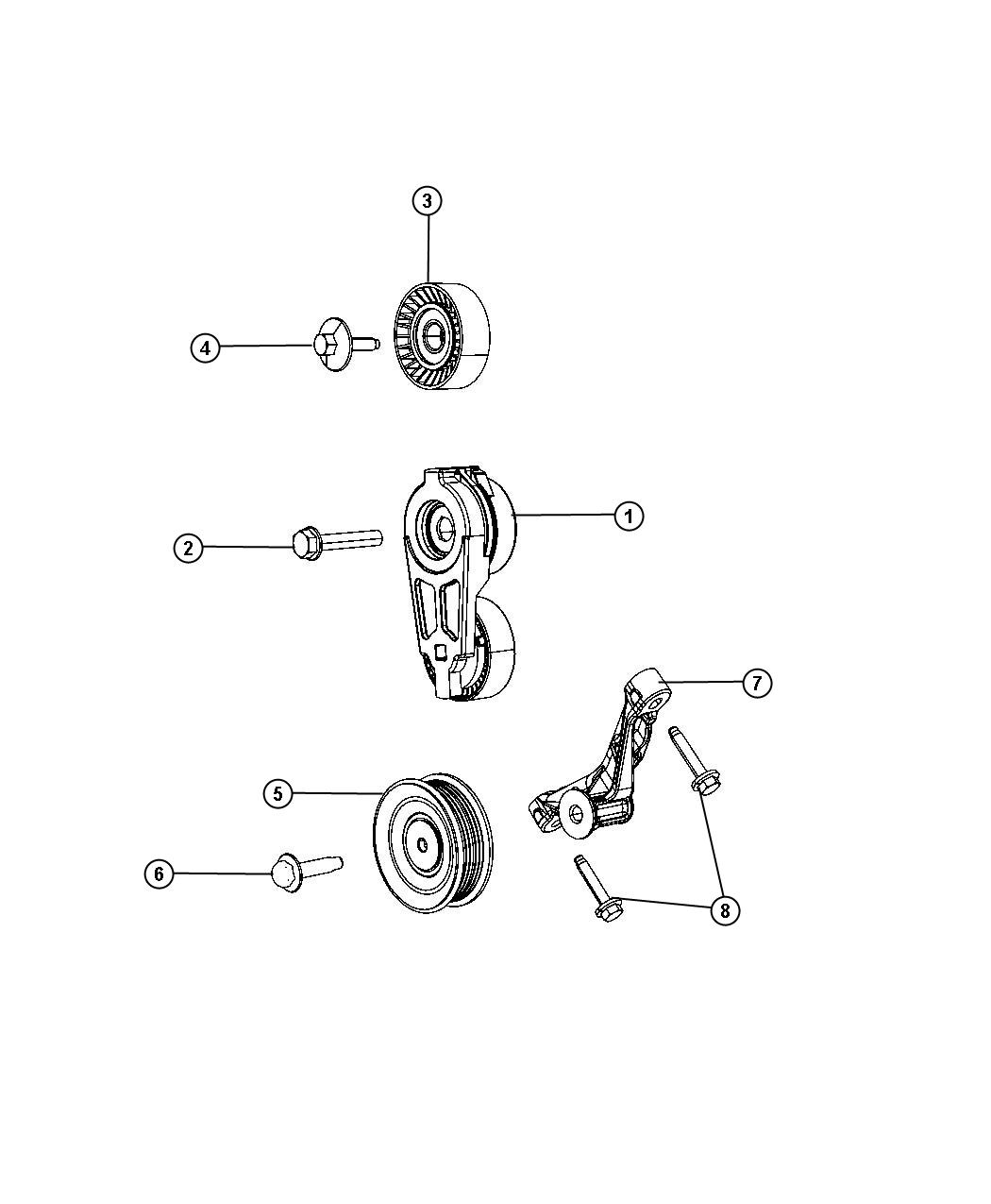 Jeep Wrangler Used For Bolt And Coned Washer Hex