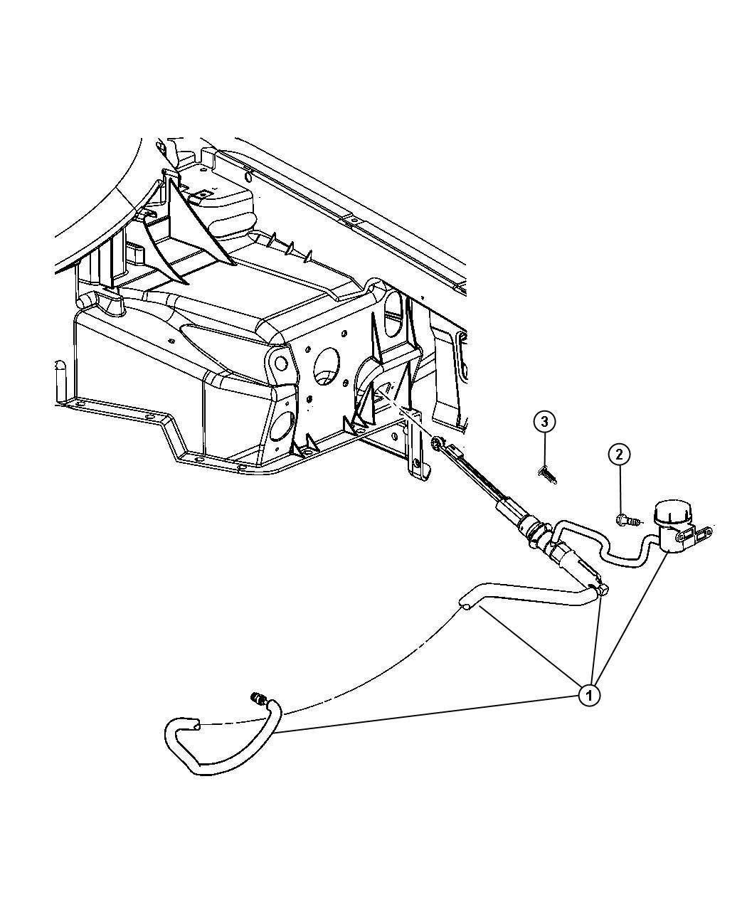 Dodge Viper Actuator Hydraulic Clutch