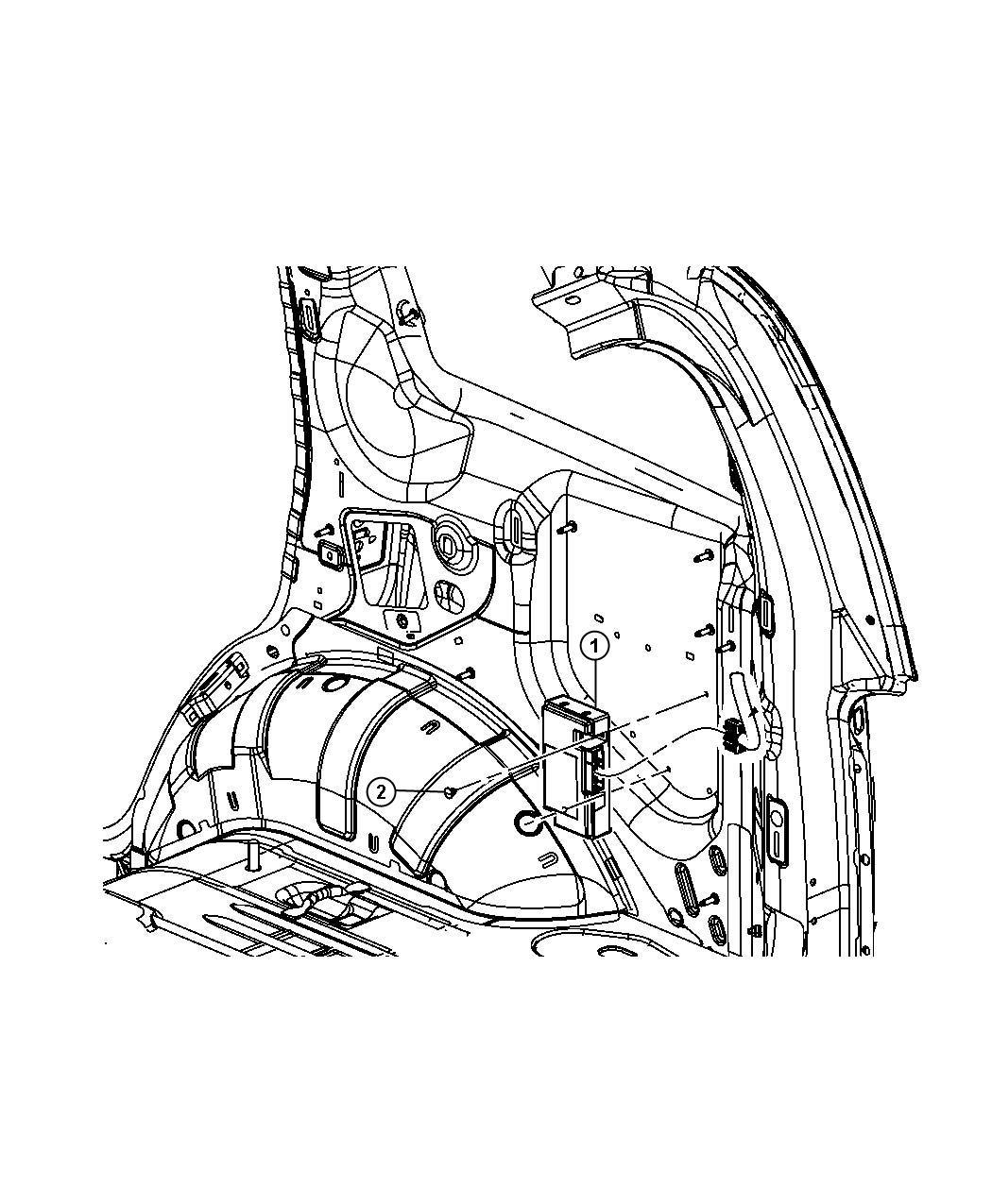 Dodge Charger Module Telematics Hfm Those