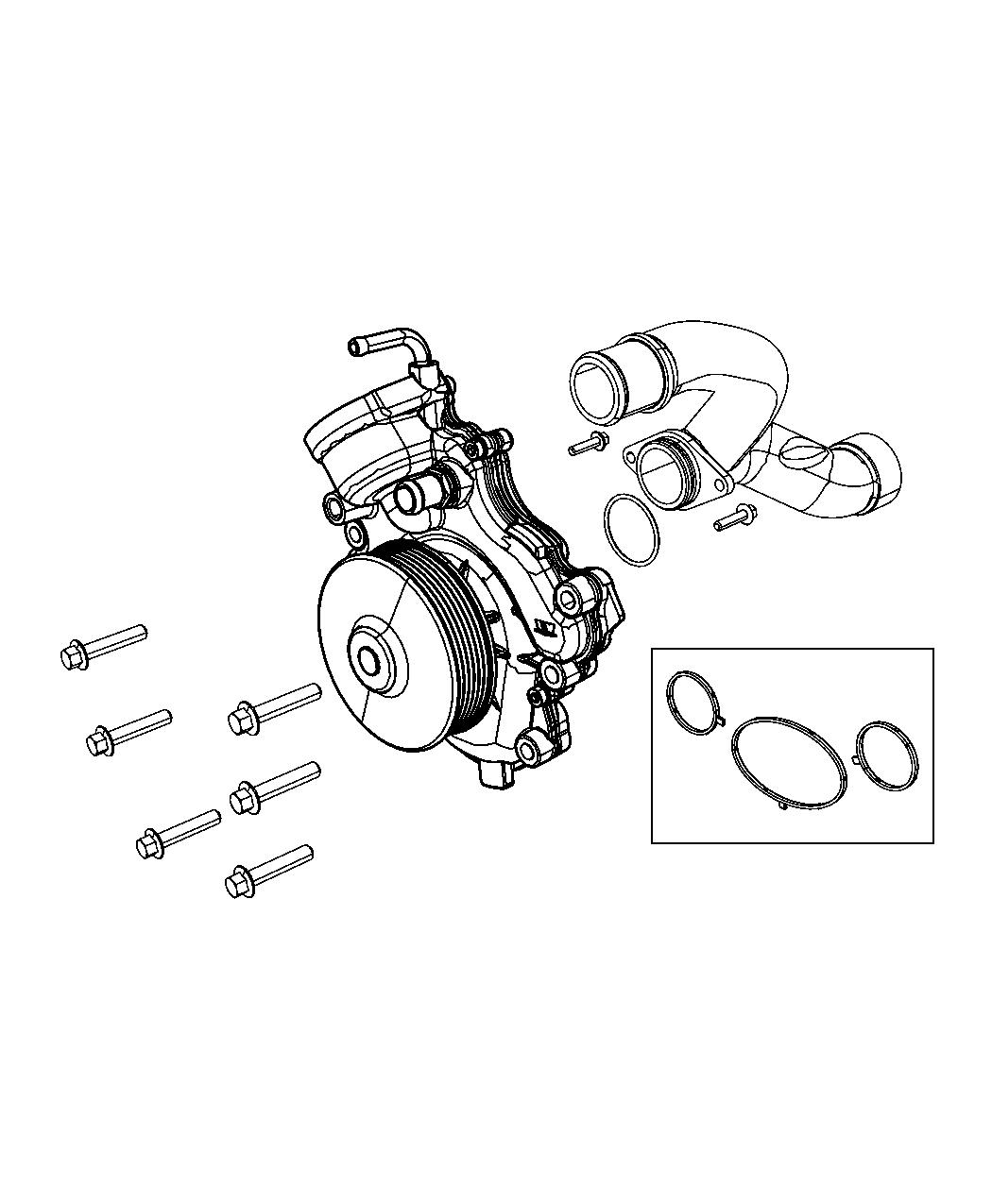 Jeep Grand Cherokee Water Pump And Related Parts