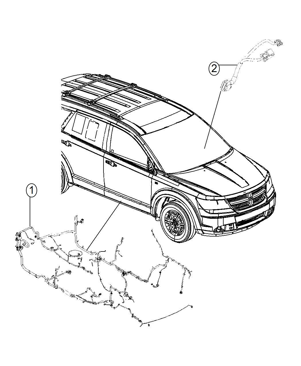 Dodge Journey Wiring Unified Body Export